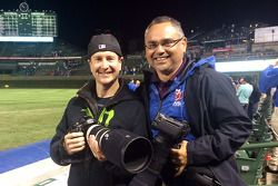 Kurt Busch e Action Sports Photography's Walter Arce