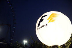 F1 Balloon in the paddock