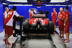Ferrari F14-T of Fernando Alonso, Ferrari en el escrutinio