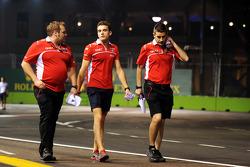 Jules Bianchi, Marussia F1 Team, recorre el circuito