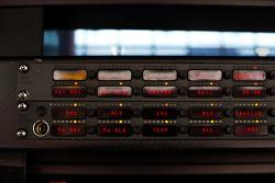 Detalle de la radio de Ferrari