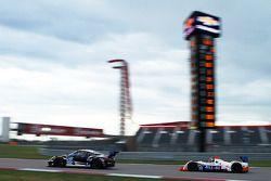 #27 Dempsey Racing Porsche 911 GT America: Patrick Dempsey, Andrew Davis ; #54 CORE autosport ORECA