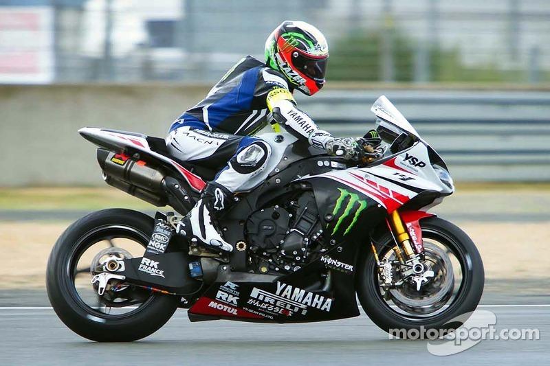 #7 Yamaha: Broc Parkes, Michael Laverty, Sheridan Morais, Igor Jerman