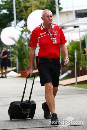 John Booth, Team Principal de Marussia