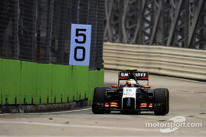 塞尔吉奥·佩雷斯, 印度力量F1 VJM07赛车