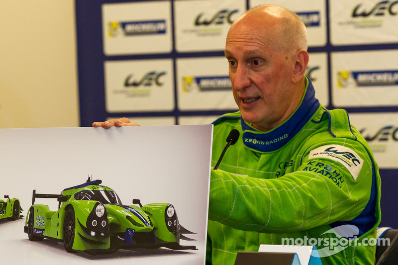 Krohn Racing annonce son engagement en LMP2