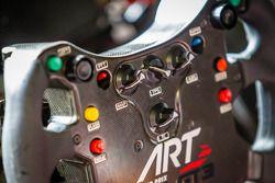 #99 ART Grand Prix McLaren MP4-12C steering wheel