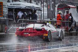 #52 AF Corse Ferrari 458 Italia: Johnny Laursen, Marco Seefried, Francesco Castellacci