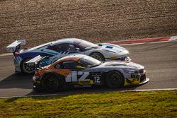 #12 TDS Racing BMW Z4: Henry Hassid, Nick Catsburg ; #49 AF Corse Ferrari 458 Italia: Howard Blank, Jean-Marc Bachelier, Yannick Mallegol