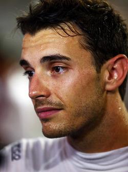 Jules Bianchi, Marussia F1 Team, atiende a los medios