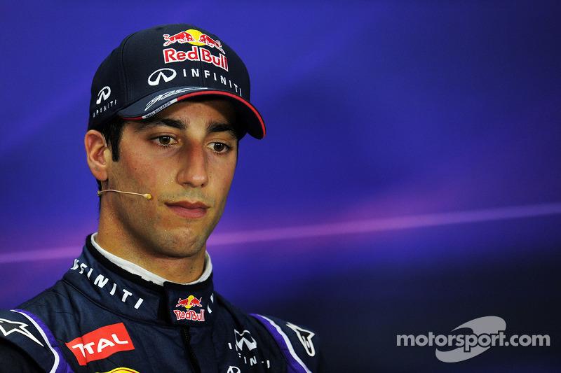 Daniel Ricciardo, Red Bull Racing in the FIA Press Conference