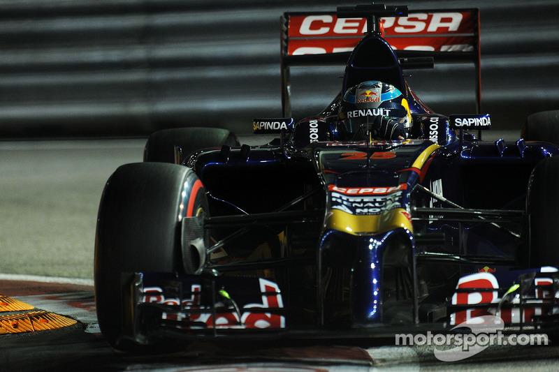 На Гран При Сингапура-2014 Жан-Эрик Вернь провел лучшую гонку в карьере, финишировав 6-м при старте с 12-го места, несмотря на два пятисекундных штрафа по ходу заезда