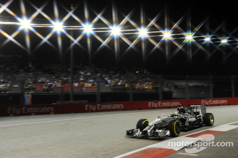 Льюис Хэмилтон, Гран При Сингапура-2014