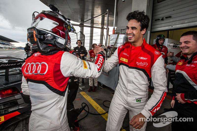 Pole position: Christopher Mies heureux avec Cesar Ramos