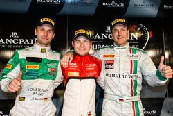 Vincitore pole PRO-AM Cup Marco Seefried, PRO CUP e vincitore assoluto Christopher Mies, Gentleman
