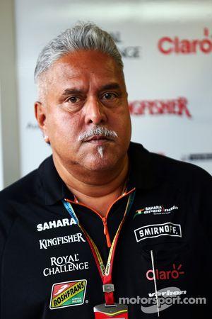Dr. Vijay Malya, Force India F1, Teambesitzer