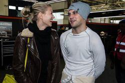 Laurens Vanthoor con la sua fidanzata