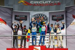Podium : Scott Pruett, Memo Rojas, Gustavo Yacaman, Alex Brundle, Joao Barbosa, Christian Fittipaldi