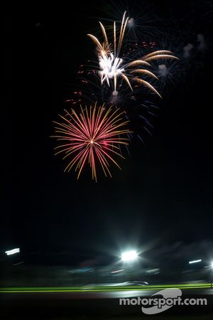 Fireworks at the Lone Star Le Mans
