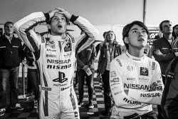 Miguel Faisca et Katsumasa Chiyo voient Wolfgant Reip sortir de la piste