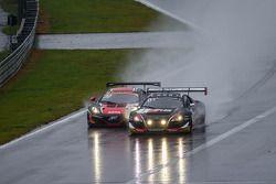 #1 Belgian Audi Club Team WRT Audi R8 LMS Ultra: Cesar Ramos, Laurens Vanthoor, Christopher Mies ; #