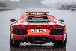 Lamborghini Aventador güvenlik aracı