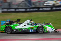 #87 BAR1 Motorsports ORECA FLM09: Martin Plowman, Marc Drumwright, Tomy Drissi
