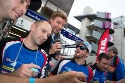 Suzuki riders autograph session with Bruno Vandestick