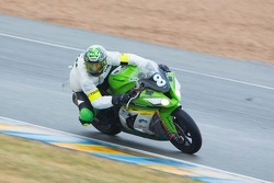 #8 Kawasaki: Horst Saiger, Daniel Sutter, Marc Wildisen, Gaston Garcia Blasco