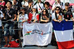 Sahara Force India F1 Team fans
