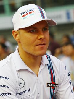 Valtteri Bottas, Williams en el desfile de pilotos