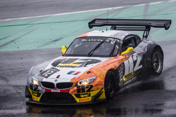 #12 TDS Racing BMW Z4: Henry Hassid, Nick Catsburg spins out of control