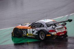 #12 TDS Racing BMW Z4: Henry Hassid, Nick Catsburg : Perte de contrôle