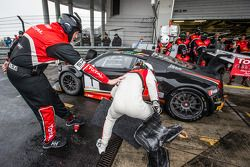 Pitstop: #1 Audi Belçika Klübü, WRT Audi R8 LMS Ultra Takımı: Cesar Ramos, Laurens Vanthoor, Christo