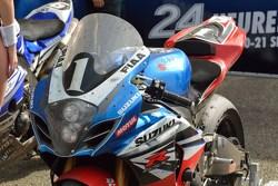 Vainqueurs: #1 Suzuki: Vincent Philippe, Anthony Delhalle, Erwan Nigon: détails