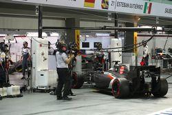 Adrian Sutil, Sauber C33 se retira