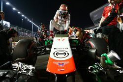 Jules Bianchi, Marussia F1 Team MR03 on the grid