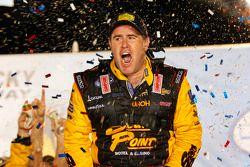 Race winner Brendan Gaughan