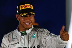 1ère place Lewis Hamilton, Mercedes AMG F1
