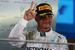 Podium: 2. Sebastian Vettel, Red Bull Racing