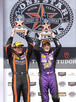 P2 podium: winners Luis Diaz and Sean Rayhall