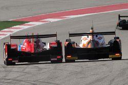 #27 SMP Racing Oreca 03 - Nissan: Serguey Zlobin, Nicolas Minassian, Maurizio Mediani ; #26 G-Drive