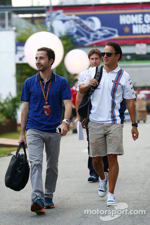 威廉姆斯车队车手菲利普·马萨与尼古拉斯·托德,维杰·马尔雅