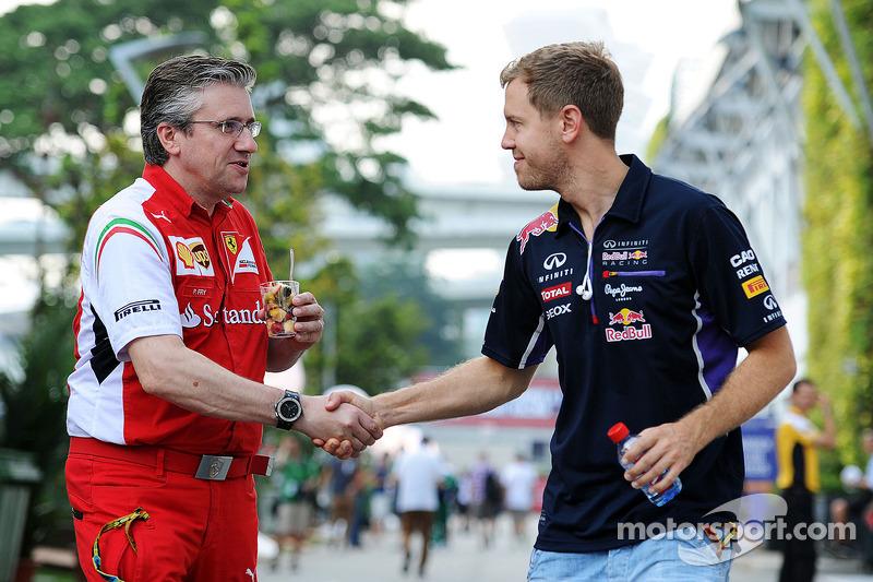 Pat Fry, Director técnico de Ferrari adjunto y jefe de la carrera de ingeniería con Sebastian Vettel