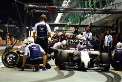 Valtteri Bottas, Williams FW36 pitte