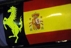 Panneau pour Fernando Alonso, Ferrari