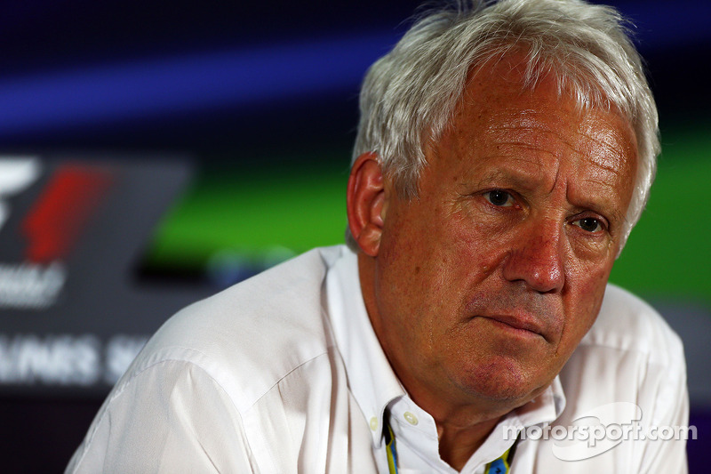 Charlie Whiting Gallery: Charlie Whiting En Conférence De Presse