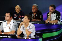 The FIA Press Conference, Scuderia Toro Rosso Team Principal; Dr. Vijay Malya