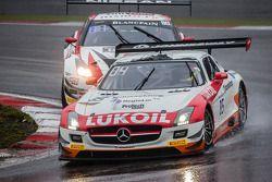 #85 HTP Motorsport 梅赛德斯 SLS AMG GT3: 马克西米利安·布克, 谢廖金·阿法纳谢夫, 斯特夫·杜塞尔多普