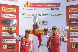 比赛获胜者 Emmanuel Anassis, 第二名 Ricardo Perez, 第三名 Ryan Ockey
